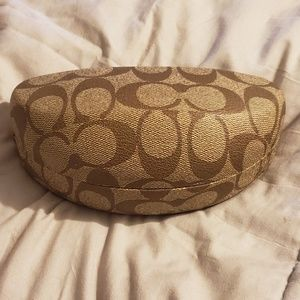 Coach Sunglasses Case & Cleaning Cloth